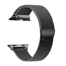 Ремінець Milanese Loop for Apple Watch 38/40 mm Black