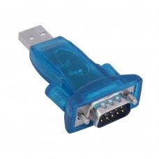 Адаптер Dynamode USB 2.0 A Male - 1*RS-232 (COM) брелок, чипсет CH340, длина кабеля 60 см (USB-SERIAL-2)