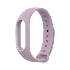 Браслет для Xiaomi Mi Band 2 MiJobs (silicone) Purple/White