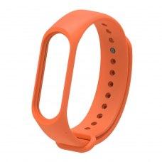 Браслет для Xiaomi Mi Band 4 / 3 (silicone) Orange