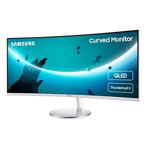 Монітор, Samsung Curved LC34J791W (LC34J791WTIXCI), 34, VA, 3440x1440, 100Гц