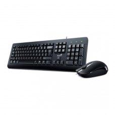 Комплектдротовий(клавіатура+мишка),GeniusKM-160 USB Black UKR (31330001419),стандартний,Black