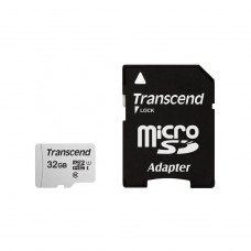 microSDHC карта 32Gb Transcend 300S class10 з SD адаптером UHS-I (TS32GUSD300S-A)