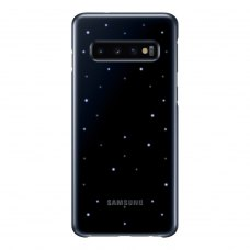 Чохол Samsung G973 (S10) EF-KG973CBEGRU LED Cover, Black