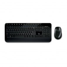 Комплект бездротовий (клавіатура+мишка), Microsoft 2000 Black, (M7J-00012) чорний