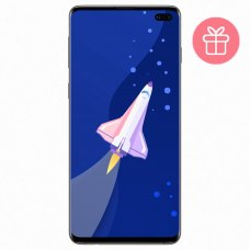 Смартфон Samsung Galaxy S10+ 512GB (G975F) Ceramic White