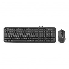 Клавіатура дротова, Defender Dakota C-270 RU USB Black (45270)
