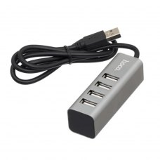 USB HUB HOCO HB1 (grey)