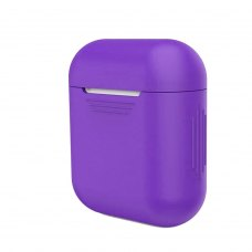 Airpods Silicon case, Purple