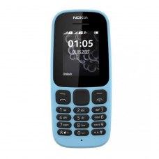 (УЦІНКА)Мобільний телефон Nokia 105 Dual Sim NEW Blue ** потертості дисплею, вітринний