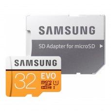 microSDHC карта, 32 Гбайт, class 10, Samsung EVO UHS-I (MB-MP32GA/APC), R95, W20MB/s
