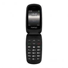 (УЦІНКА)Мобільний телефон Prestigio 1242 (Grace B1) Black ** потертості корпусу, вітринний