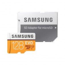 microSDXC карта, 128 Гбайт, class 10, Samsung EVO Plus UHS-I (MB-MP128GA/RU)