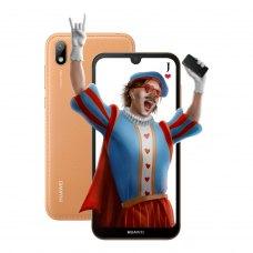 Смартфон Huawei Y5 2019 Brown Faux Leather