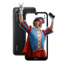 Смартфон Huawei Y5 2019 Black Faux Leather