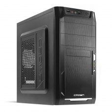 Корпус 450Вт БЖ Crown CMC-400 (CMC-400 450W) Black
