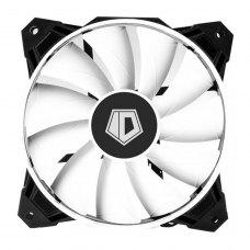 Вентилятор ID-Cooling WF-12025, 120x120x25мм, 4-pin PWM, черный с белым