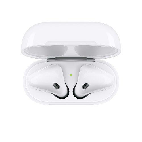 Гарнітура бездротова Apple New AirPods with Charging Case (MV7N2RU/A) for Apple iPhone White