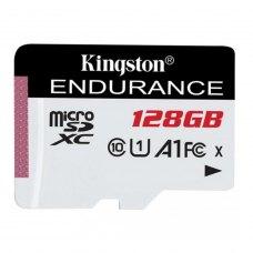 microSDHC карта 128Gb Kingston class10 з SD адаптером Endurance UHS-I U1 A1 (SDCE/128Gb)