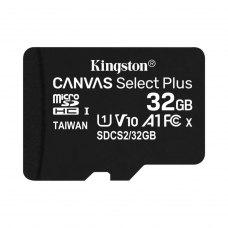 microSDHC карта, 32 Гбайт, class 10, Kingston UHS-I U1 A1 (SDCS2/32GBSP)