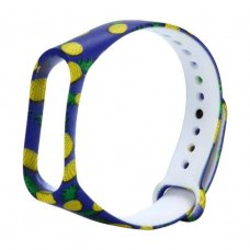 Браслет для Xiaomi Mi Band 4 / 3 (silicone) Pineapple