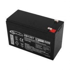 Акумуляторна батарея  Gemix GB1207 / 12V 7Ah (black)