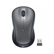 Мишка бездротова, Logitech M310 радіо (910-003986), ноутбучна, оптична 1000dpi, 2кн+1кол, 1xAA, USB-нано Plug-and-forget, Silver RTL