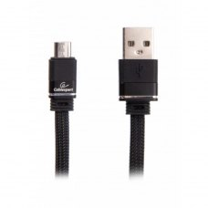 Кабель Cablexpert CCPB-M-USB-10BK microUSB 2.4 A, 1.0m, Black