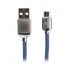 Кабель Cablexpert CCPB-C-USB-07B Type-C, 2.4A, 1.0m, Blue