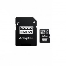 Карта памяти micro SDHC 32GB GoodRam UHS-I 3 in 1 (M1A4-0320R12)