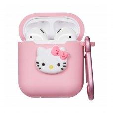 Airpods Silicon case Cartoon series (18) Hello Kitty