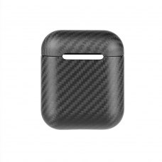Airpods Carbon Case для AirPods with Charging Case, Black