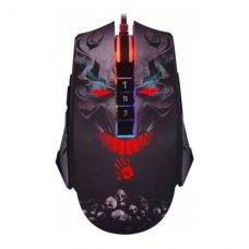 Мишка дротова ігрова, A4Tech Bloody (P85А Bloody (Skull), 5K Optical, PMW3325 Sensor 5000CPI, динамічна підсвітка