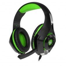 Ігрова гарнітура Crown CMGH-101T Green  аналог.