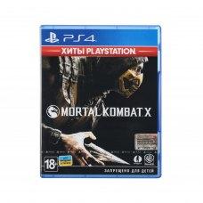 Гра PS4 Mortal Kombat X (Хіти PlayStation) [Blu-Ray диск]