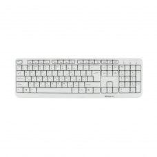 Клавіатура REAL-EL Standard 500 White USB (EL123100011)