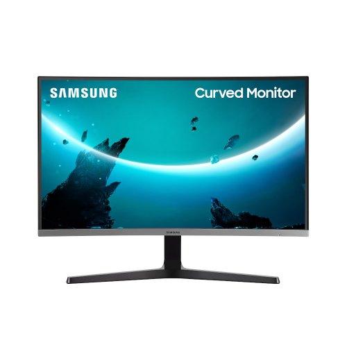 Монітор, Samsung Curved C27R500 Dark Silver (LC27R500FHIXCI), 26.9, VA, 1920x1080, 60Гц