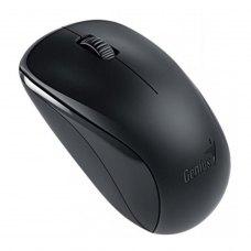 Мишка бездротова, Genius NX-7000 (31030012400), стандартна, оптична 1200dpi BlueEye, 2кн+1кол, 1xAA, USB-нано ресівер, Black, RTL
