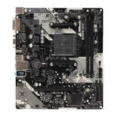 Материнська плата AsRock B450M-HDV R4.0, B450, 2xDDR4, Int.Video(CPU), 4xSATA3, 1xM.2, 1xPCI-E 16x 3.0, 1xPCI-E 1x 2.0, ALC887, RTL8111H, 6xUSB3.1/4xU