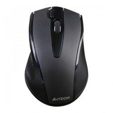 Мишка бездротова, A4 Tech G9-500FS (Black) Silent Clicks, V-Track USB, 1000dpi, 2x click key