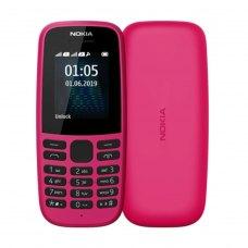 Мобільний телефон Nokia 105 Dual Sim 2019 Pink
