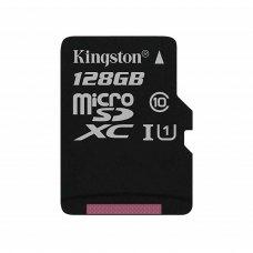 microSDXC карта 128Gb Kingston Canvas Select class10 UHS-I U1 (SDCS/128GbSP)