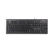 Клавіатура дротова, A4Tech KRS-83 USB (Black) X-slim w/Ukr Comfort Key