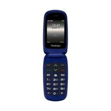 (УЦІНКА)Мобільний телефон Prestigio 1242 (Grace B1) Blue ** потертості корпусу, вітринний