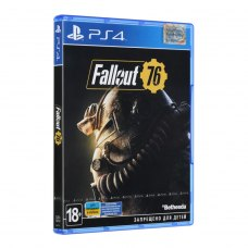 Гра PS4 Fallout 76 [Blu-Ray диск]