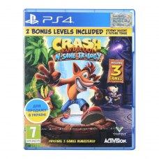 Гра PS4 Crash Bandicoot Nsane Trilogy [Blu-Ray диск]