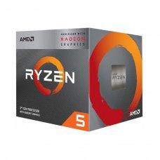 Процесор AMD Ryzen 5 3400G (YD3400C5FHMPK) AM4, 4 ядра, 3.7GHz