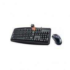 Комплектдротовий(клавіатура+мишка),GeniusKM-200USBBlack,(31330003410)Black