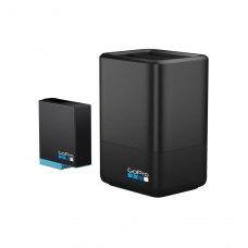 Зарядний пристрій для двох акумуляторних батарей HERO8 GoPro Dual Battery Charger + Battery (AJDBD-001-EU)