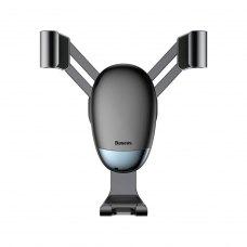 Автотримач для мобiльного Baseus Mini gravity holder Black